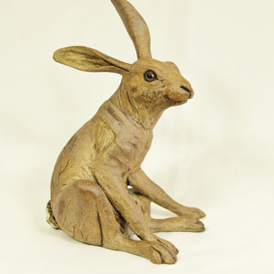 hare sculptures - Pippa Hill