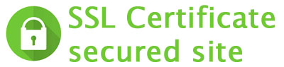 Site secured with a SSL Certificate
